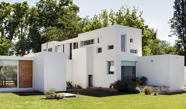 Fachada modera casa besares arquinoma argentina arquitexs for Fachadas de ventanas para casas modernas