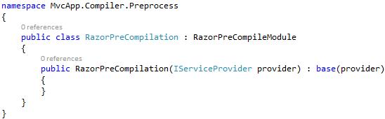 RazorPreCompilation