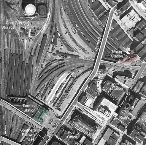 16 - Atlanta Aerial Photo 1949
