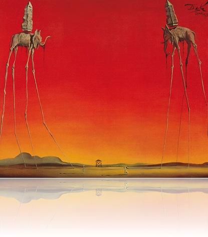 Salvador Dalí (España) Los elefantes