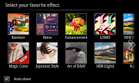 There are a lot of different effects that you can use. You can also add additional effects which are available as paid downloads