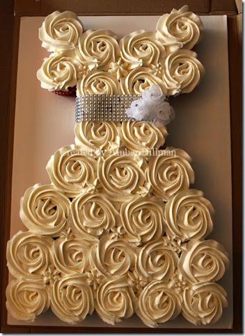 bridalweddingcupcakecake