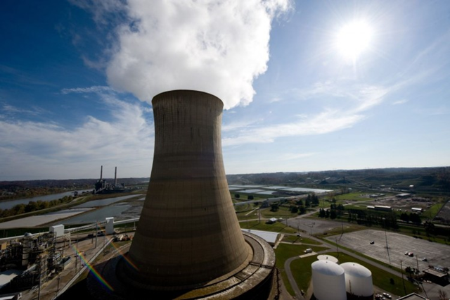 American Electric Power's (AEP) Mountaineer coal power plant in New Haven, West Virginia, in 2009. Some coal power plants may be forced closed under EPA's proposed rules. Photo: Saul Loeb / AFP / Getty Images