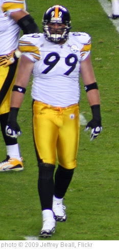 'Brett Keisel #99' photo (c) 2009, Jeffrey Beall - license: http://creativecommons.org/licenses/by-sa/2.0/