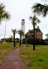 1502160 Feb 17 Lighthouse On St George Island