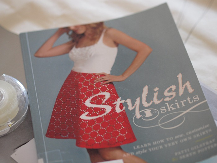 Stylish skirts book