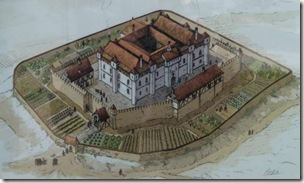 Recreación el castillo palacio de Tiebas