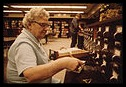 Librarian_at_the_card_files_at_a_senior_high_school_in_New_Ulm,_Minnesota
