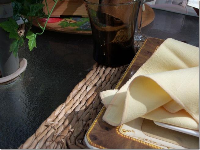 Italian table 012