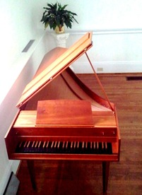 Eric Herz Harpsichord at Ebenezer Lutheran Chapel - Columbia, SC