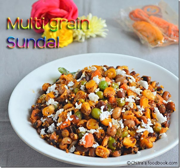 Multi grain sundal