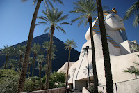 Front of The Luxor