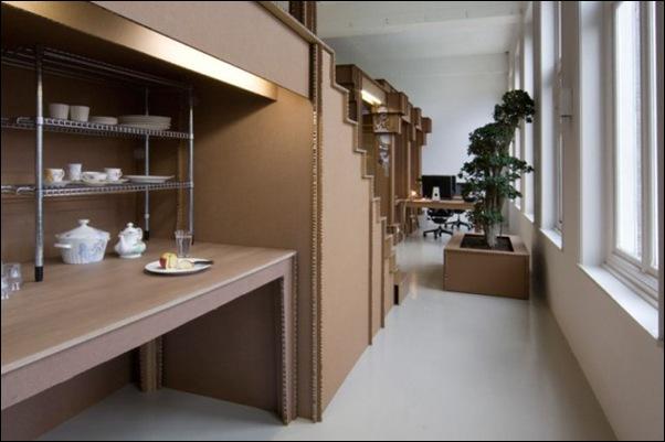 Des bureaux en carton (1)