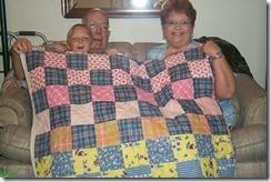 Granny's quilt 005