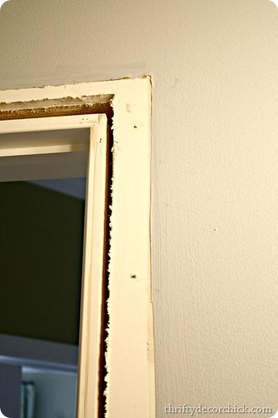 removing door trim