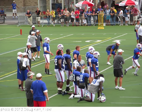 '2012 Buffalo Bills Training Camp' photo (c) 2012, Doug Kerr - license: http://creativecommons.org/licenses/by-sa/2.0/