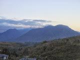 The Curunumbeng range seen from just west of Ruteng (Dan Quinn, July 2013)