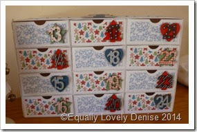 Advent Drawers