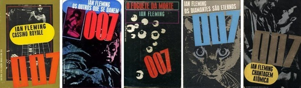 james bond paperback covers brazil