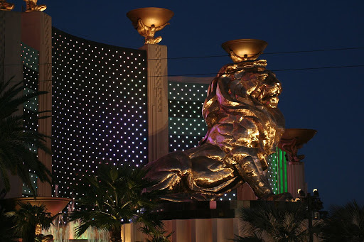 MGM Grand outdoor lion Richest Casinos In The World
