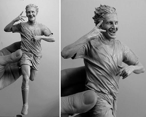 Luca%20Toni Sculptures by Adam Beane