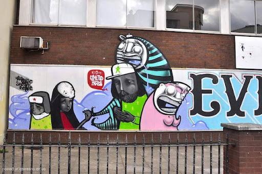 17risunki Bristol Graffiti Street Art