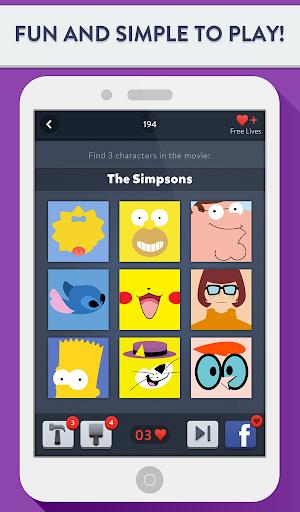 Movie Trio Quiz - Picture Game - screenshot
