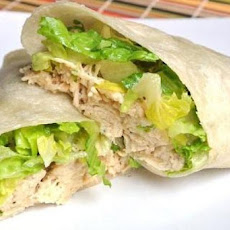 Weight Watchers Chicken Caesar Wrap