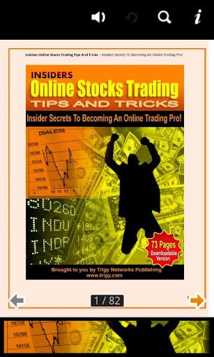 Online Stock Trading Tricks