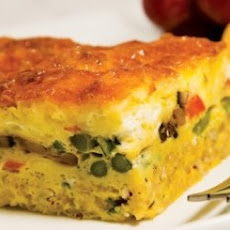 Quinoa-Crusted Quiche