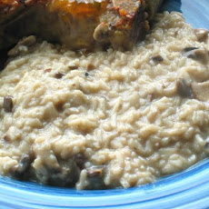 Low - Fat Creamy Mushroom and Rice