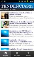 Screenshot of Tendencias21