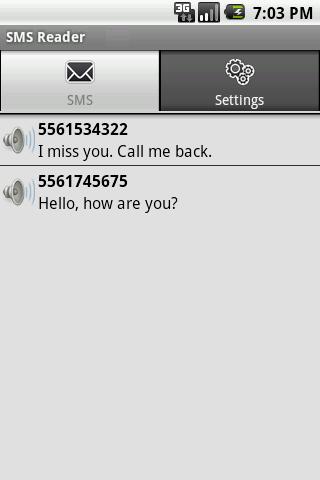 SMS Reader LITE