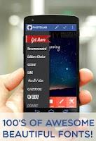 Screenshot of PhotoLab-Text on photos editor
