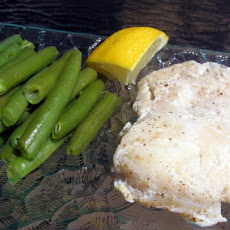 Steamed Fish (Without a Steamer) With Green Beans