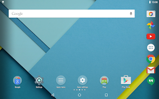 Screenshot of Apex Launcher Pro