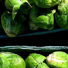 Creamy Braised Brussels Sprouts