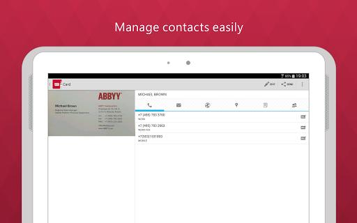 Androidmarketdownloda Business Card Reader Pro V4 0 141 0 Abbyy