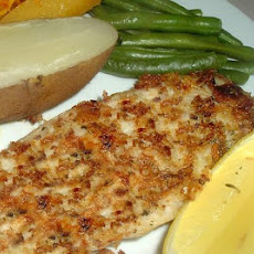 Tilapia With Onion Crust