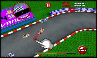 Screenshot of RC Mini Racing