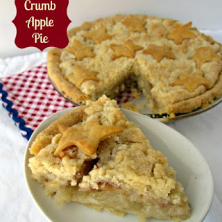 Crumb Apple Pie {A Recipe Re-do Blog Hop}