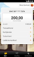 Screenshot of Ålems Sparbank