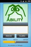 Screenshot of Spanish Sign Language