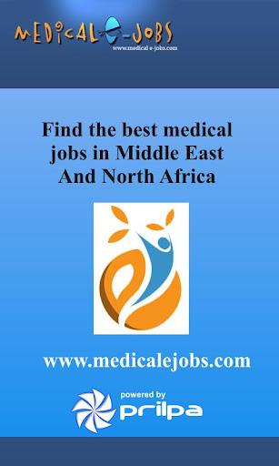 Medical Jobs in MENA