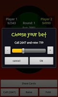 Screenshot of Texas Holdem 4 Friends Pro