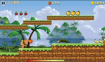 Screenshot of Croco Runner