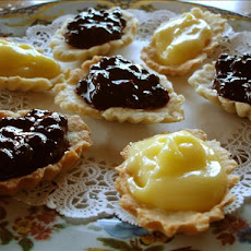 Fruit Tartlets With Lemon Curd