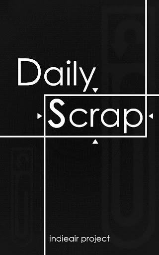 SCRAP : Daily Scrap App :