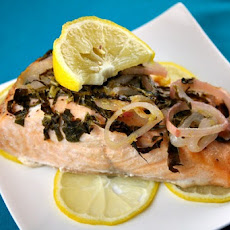 Salmon w/ Lemon & Basil