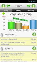 Screenshot of SmartFoodTracker - Food Logger